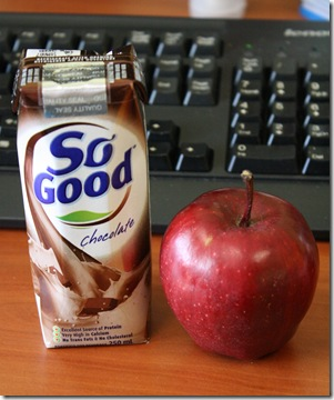 So God chocolate soy milk