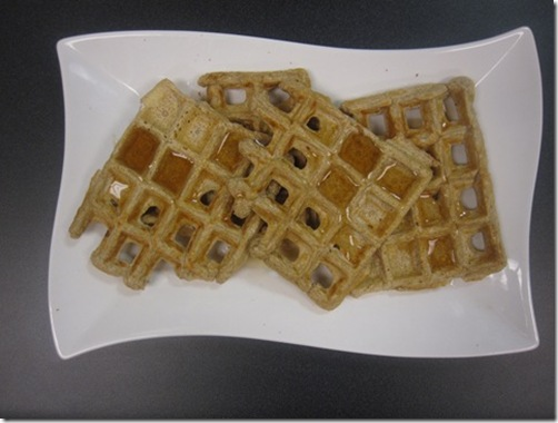 protein waffle 1